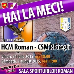 HCM Roman - CSM Ploiești
