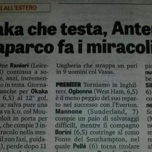 Caparco și Napoli, în presa italiană