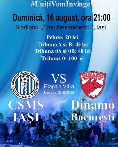 Bilete Dinamo